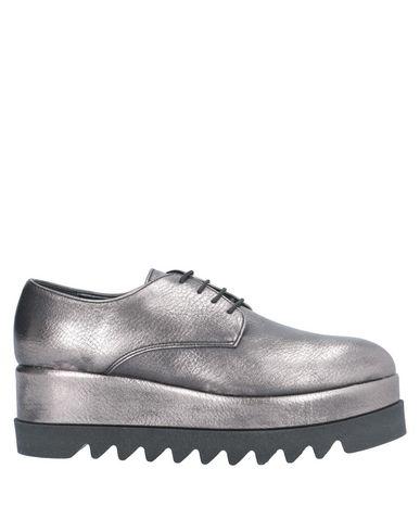 Купить Обувь на шнурках серого цвета