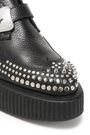McQ Alexander McQueen Nevada studded pebbled-leather platform brogues