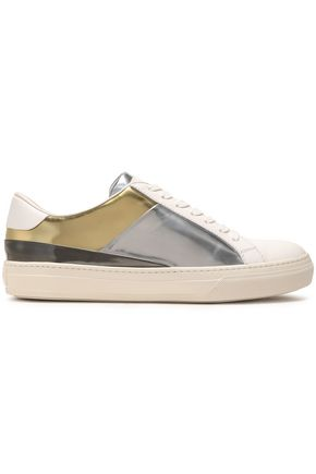 TOD'S Paneled leather sneakers