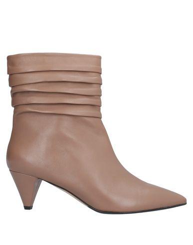 Купить Полусапоги и высокие ботинки цвет верблюжий