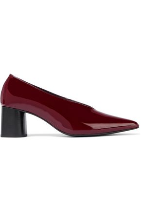 IRIS & INK Liv patent-leather pumps