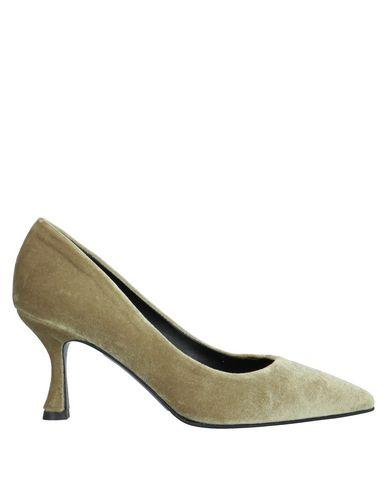 Фото - Женские туфли  цвет зеленый-милитари