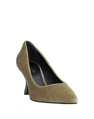 Фото 2 - Женские туфли  цвет зеленый-милитари