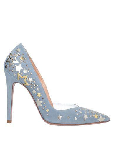 Купить Женские туфли  небесно-голубого цвета