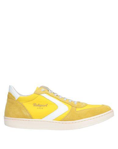 Купить Низкие кеды и кроссовки от VALSPORT желтого цвета