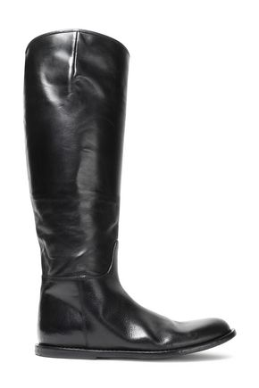 ANN DEMEULEMEESTER Tucson polished leather boots