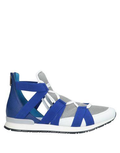 Купить Высокие кеды и кроссовки синего цвета