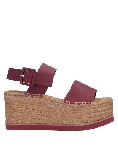 Купить Женские сандали PALOMA BARCELÓ красно-коричневого цвета