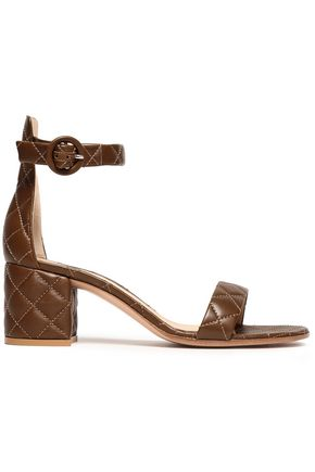 GIANVITO ROSSI Versilia Driver quilted leather sandals