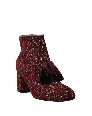 Фото 2 - Полусапоги и высокие ботинки красно-коричневого цвета