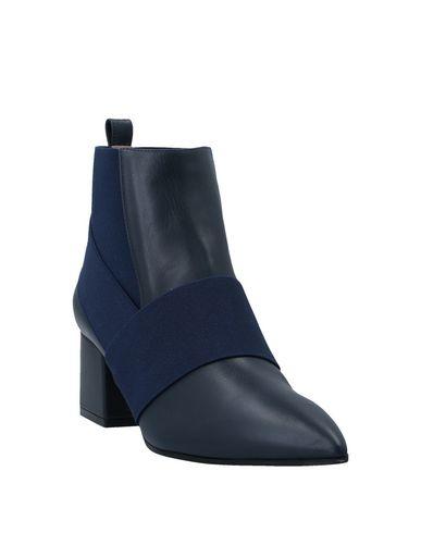 Фото 2 - Полусапоги и высокие ботинки синего цвета