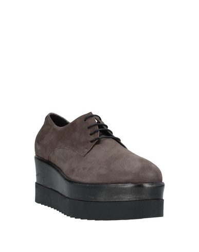 Фото 2 - Обувь на шнурках от LEA-GU цвета хаки
