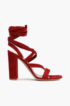 GIANVITO ROSSI Janis suede sandals