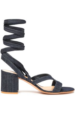 GIANVITO ROSSI Janis denim sandals