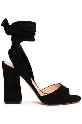 GIANVITO ROSSI Mika suede sandals