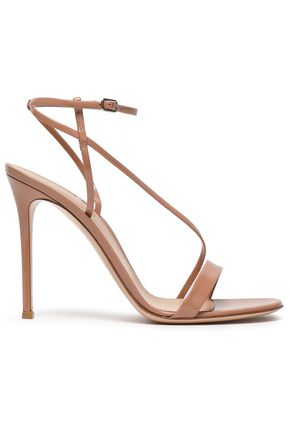 GIANVITO ROSSI Carlyle patent-leather sandals