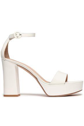 GIANVITO ROSSI Coco suede platform sandals