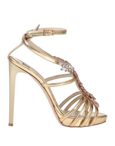 Купить Женские сандали  цвет платиновый