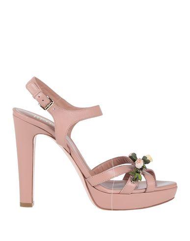 Фото - Женские сандали RED(V) пастельно-розового цвета