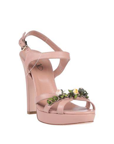 Фото 2 - Женские сандали RED(V) пастельно-розового цвета