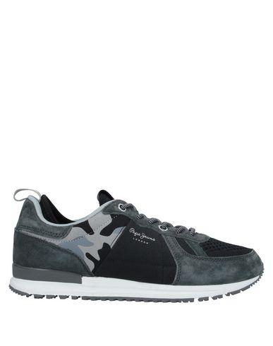 Фото - Низкие кеды и кроссовки от PEPE JEANS 73 цвет стальной серый