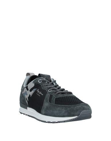 Фото 2 - Низкие кеды и кроссовки от PEPE JEANS 73 цвет стальной серый