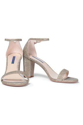 STUART WEITZMAN Lamé sandals
