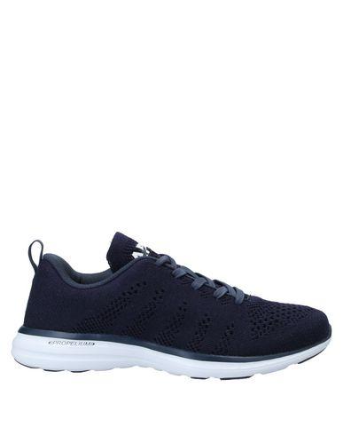 Купить Низкие кеды и кроссовки от APL® ATHLETIC PROPULSION LABS темно-синего цвета
