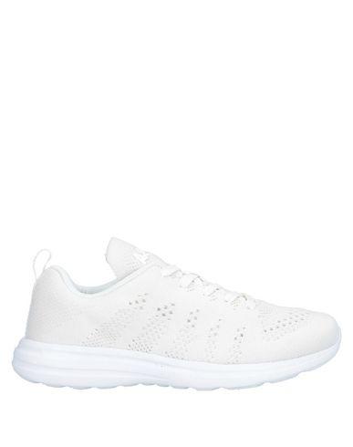 Купить Низкие кеды и кроссовки от APL® ATHLETIC PROPULSION LABS белого цвета