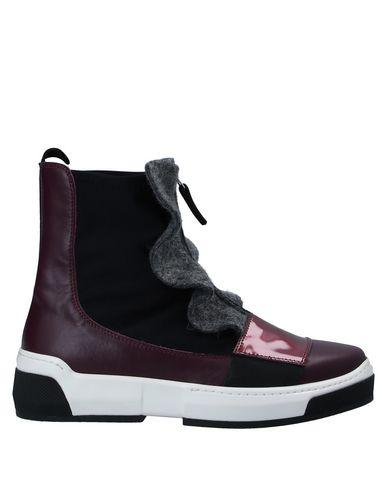 Фото - Высокие кеды и кроссовки от BEYOND фиолетового цвета