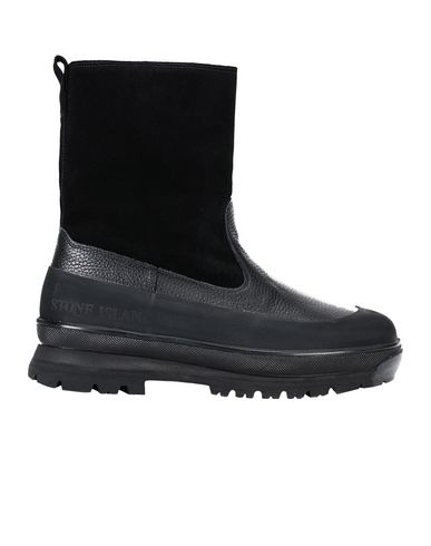 S0492 LEATHER/SHEEPSKIN BOOT