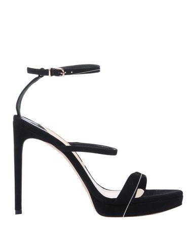 Купить Женские сандали SOPHIA WEBSTER черного цвета