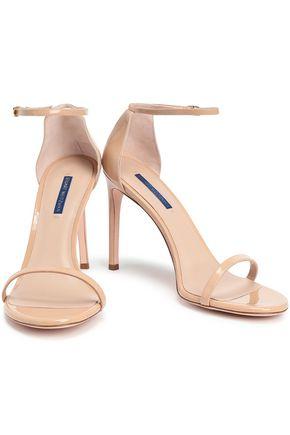 STUART WEITZMAN Patent-leather sandals