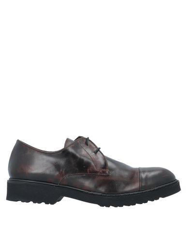 Купить Обувь на шнурках от TSD12 темно-коричневого цвета