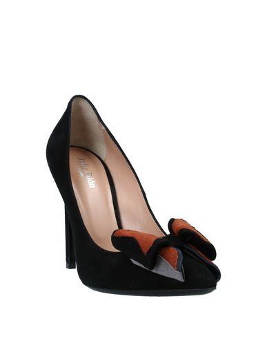 Фото 2 - Женские туфли JULIE PILÒN Paris черного цвета