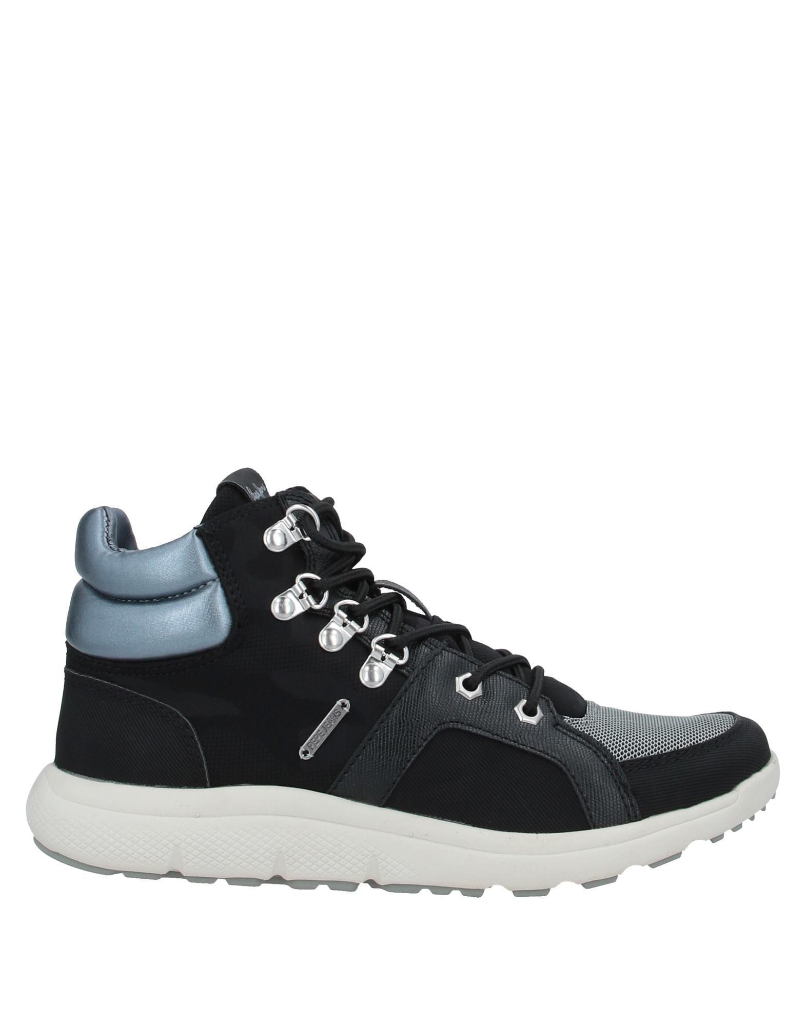 PEPE JEANS Высокие кеды и кроссовки недорго, оригинальная цена