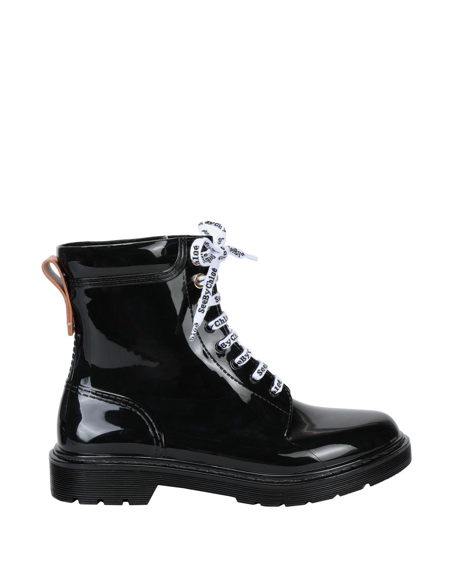 SEE BY CHLOÉ Полусапоги и высокие ботинки shy by arvid yuki полусапоги и высокие ботинки