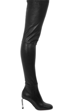 ROBERT CLERGERIE Melise stretch-leather thigh boots