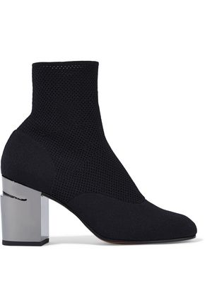 ROBERT CLERGERIE Keane stretch-knit sock boots
