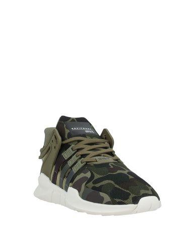Фото 2 - Низкие кеды и кроссовки цвет зеленый-милитари