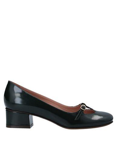 Купить Женские туфли  темно-зеленого цвета