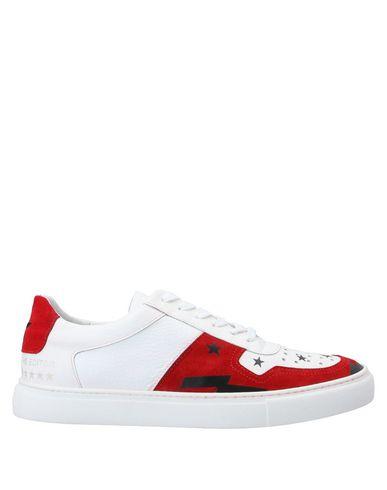 Купить Низкие кеды и кроссовки от THE EDITOR белого цвета
