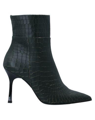 Купить Полусапоги и высокие ботинки от TIPE E TACCHI зеленого цвета