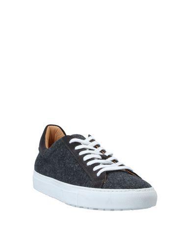 Фото 2 - Низкие кеды и кроссовки цвет стальной серый