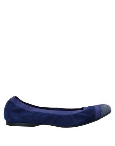 Фото - Женские балетки  темно-синего цвета