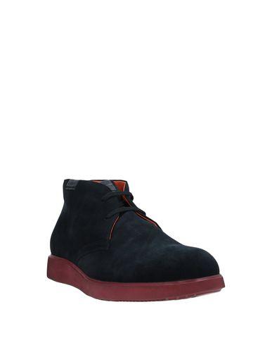 Фото 2 - Обувь на шнурках от STONEFLY темно-синего цвета