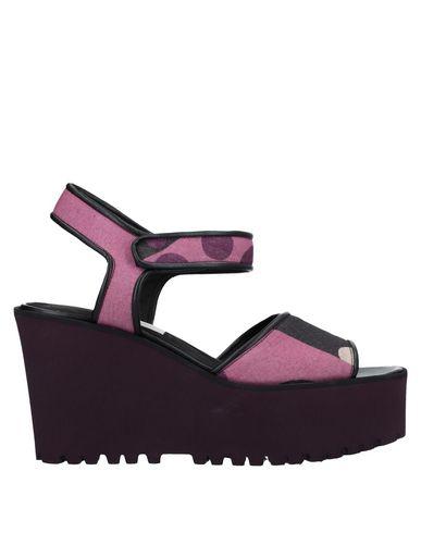 Купить Женские сандали  светло-фиолетового цвета