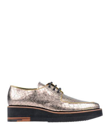 Купить Обувь на шнурках бронзового цвета