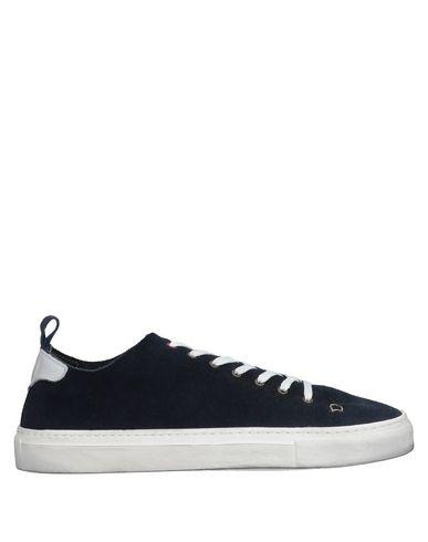 Купить Низкие кеды и кроссовки от WALLY WALKER темно-синего цвета
