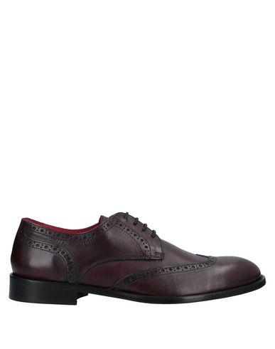 Купить Обувь на шнурках цвет баклажанный